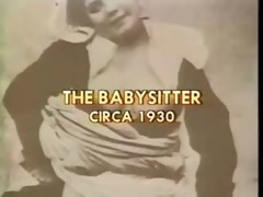 the classic vintage babysitter