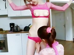 18yo russian cuties playing with toys