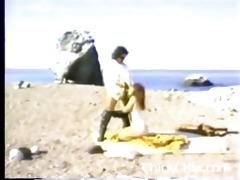 kimberley carson ron jeremy on the beach -