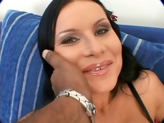 bitch gives head and butt banged