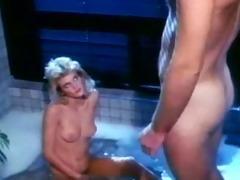 ginger lynn gets a precious spanking