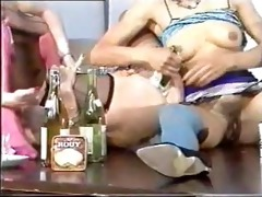 vintage immodest bottle insertion