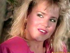hot golden-haired gal having sex on sofa