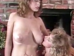 christy canyon: engulf my tits and lick my pussy