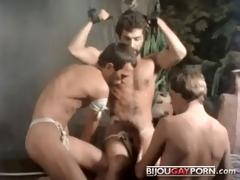 manacled george payne sex scene from vintage porn