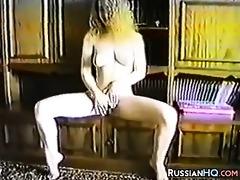 retro russian couple