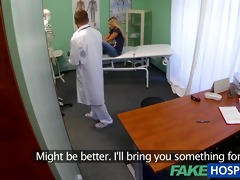 fakehospital surprise creampie for girl with
