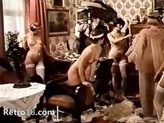 retro group-sex with doctor
