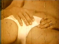 a vintage poolside affair - classic bareback film