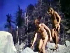 vintage outdoor fucking!!!