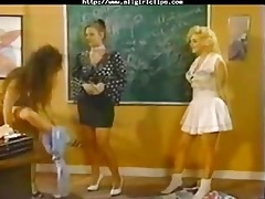 vintage women threesomo. lesbo beauty on gal