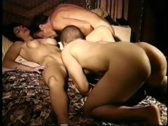 vintage bisexual female trio