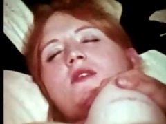 redhead acquires double penetrated by two men