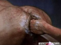 fisting orgy from vintage homo porn drive (1974)