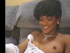 angel kelly - sexy black maid