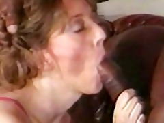 summer rose retro blonde whore enjoying a bbc