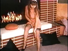 fire - vintage nylons striptease dance nylons