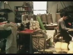 georgette sanders bonks in textile factory (1980)