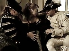 vintage group sex and uniform costume party