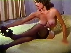 bold striptease - vintage stockings nylons