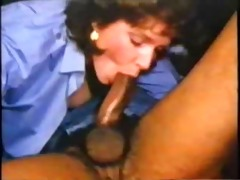 astounding vintage interracial deep throat blow