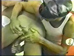 retro gay police threeway - bacchus