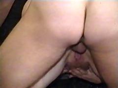 aged vid doggie cum on her fat ass!