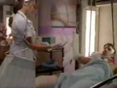 retro style nurse handjob!