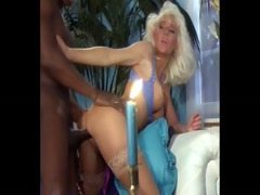 beautiful blond anal by big black cock, helen