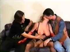 amateur breasty 3 way