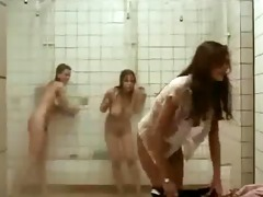 clip with shaggy girls in shower.