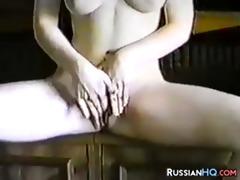 retro russian pair