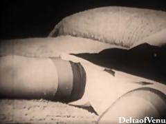 antique porn 1940s - blondie acquires drilled