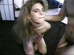 retro slut receives banged