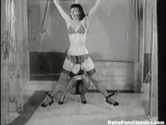 betty page bondage thrashing