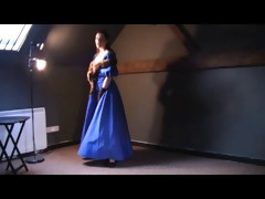 luxury vintage dress
