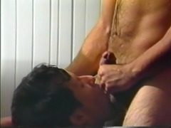 muscled dudes in vintage gay porn