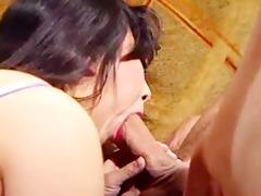 oldschool asian anal pummeling
