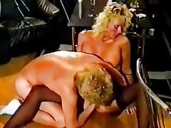 german golden-haired in vintage porn inferno