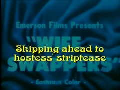 hawt wifes striptease: wife swappers (1965