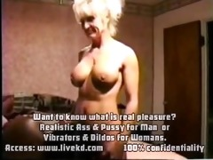 captivating golden-haired in classic porn scenes