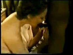 wife enjoys black penis - vintage -