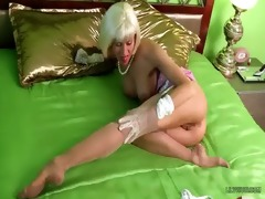 hot milf lilywow in thinnest stripped vintage