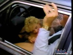 cara gets boned in a car