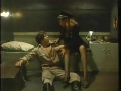 hot stuff - nazi female captain fucks guy -