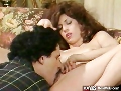 wet hairy pussy nailed by powerful cock