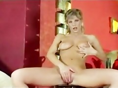 sexy milf give a vintage style handjob and boobjob