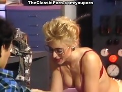 getting oral-service and vaginal from blonde