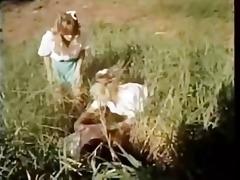 retro schoolgirls fun