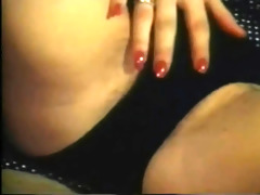 elegant masturbation with massive tits